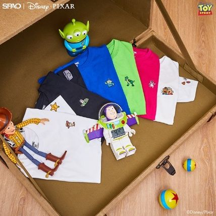 SPAO More T-Shirts Unisex Collaboration T-Shirts