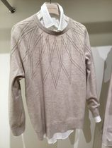BRUNELLO CUCINELLI Crew Neck Casual Style Cashmere Blended Fabrics Long Sleeves