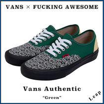 VANS AUTHENTIC Street Style Collaboration Sneakers