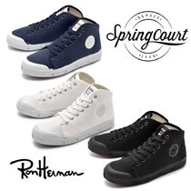 Spring Court Casual Style Unisex Low-Top Sneakers