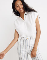 Madewell Casual Style Plain Cotton Long Short Sleeves