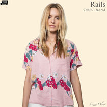Ron Herman Flower Patterns Tropical Patterns Casual Style Linen Medium
