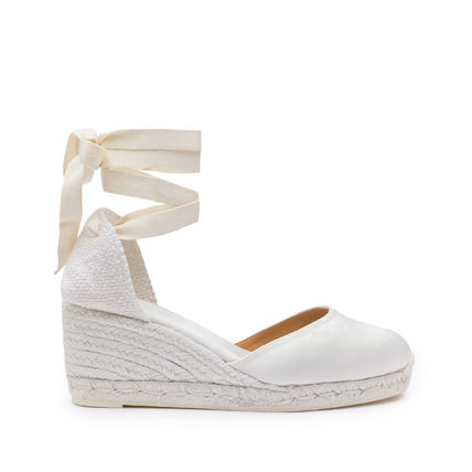 Round Toe Casual Style Platform & Wedge Sandals