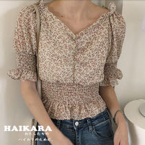 Flower Patterns Casual Style Medium
