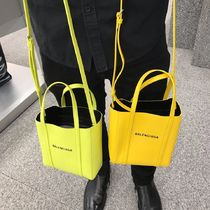 BALENCIAGA EVERYDAY TOTE 2WAY Leather Totes