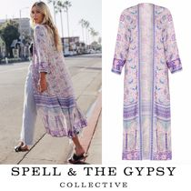 SPELL Flower Patterns Casual Style Outerwear
