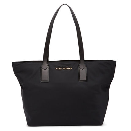 Nylon A4 Plain Office Style Totes