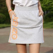 KENZO Short Stripes Casual Style Cotton Skirts