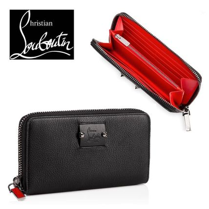 Unisex Calfskin Long Wallets