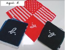 Agnes b Stripes Unisex Handkerchief