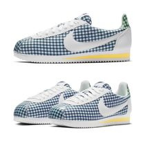 Nike CORTEZ Gingham Casual Style Low-Top Sneakers