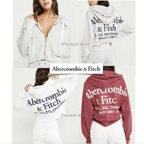 Abercrombie & Fitch Short Street Style Long Sleeves Plain Cropped