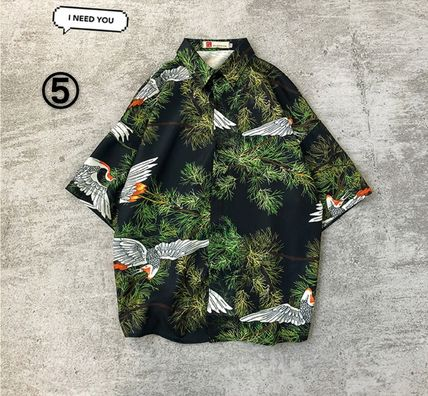Shirts Flower Patterns Street Style Other Animal Patterns 15