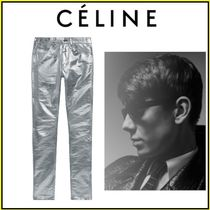 CELINE Plain Skinny Fit Jeans & Denim
