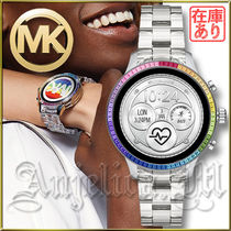 Michael Kors RUNWAY Casual Style Unisex Blended Fabrics Round Stainless
