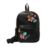 Betsey Johnson Flower Patterns Casual Style Plain Backpacks