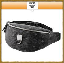 MCM Unisex Street Style Leather Bags