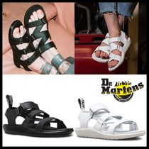 Dr Martens Casual Style Unisex Street Style Leather Sandals Sandal