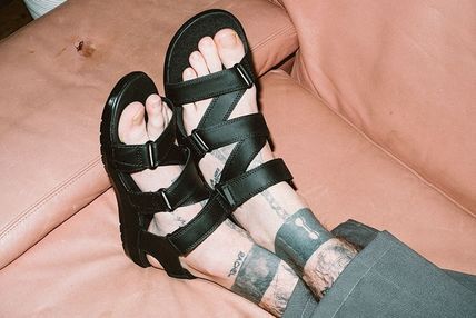 Casual Style Unisex Street Style Leather Sandals Sandal