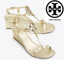 Tory Burch Plain Platform & Wedge Sandals