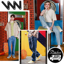 WV PROJECT Unisex Street Style Cotton Oversized Jeans