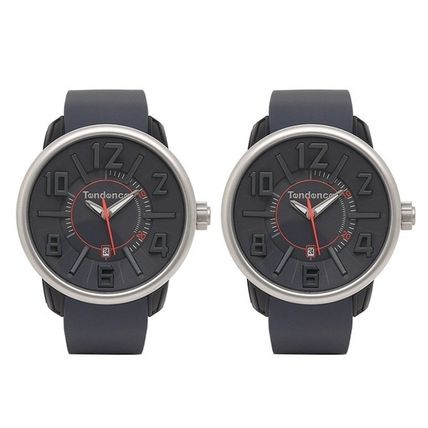 Casual Style Unisex Silicon Quartz Watches Analog Watches