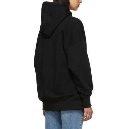 VETEMENTS Hoodies Unisex Street Style Plain Oversized Hoodies 6