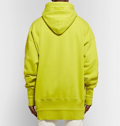 VETEMENTS Hoodies Unisex Street Style Plain Oversized Hoodies 11