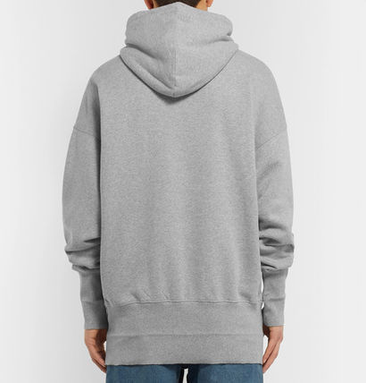VETEMENTS Hoodies Unisex Street Style Plain Oversized Hoodies 17