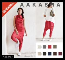 Aakasha Linen Plain Medium Handmade Sarouel Pants
