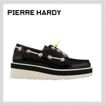 Pierre Hardy Round Toe Casual Style Plain Loafer & Moccasin Shoes