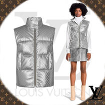 Louis Vuitton MONOGRAM Monogram Leather Medium Down Jackets