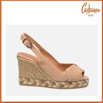 Castaner Open Toe Casual Style Plain Platform & Wedge Sandals