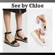 See by Chloe Plain Heeled Sandals