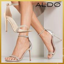 ALDO Open Toe Pin Heels Party Style With Jewels Heeled Sandals