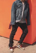 MNML More Jeans Tapered Pants Denim Street Style Jeans 9