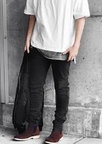 MNML More Jeans Tapered Pants Denim Street Style Jeans 13
