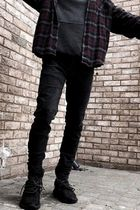 MNML More Jeans Tapered Pants Denim Street Style Jeans 14