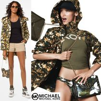 Michael Kors Camouflage Casual Style Street Style Coats