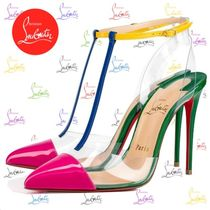 Christian Louboutin Nosy Pin Heels Elegant Style Heeled Sandals
