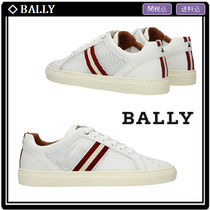 BALLY Stripes Blended Fabrics Sneakers