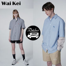 Wai Kei Unisex Street Style Cotton Short Sleeves Oversized