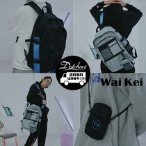 Wai Kei Casual Style Unisex Street Style A4 3WAY Oversized Backpacks