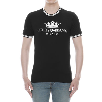 Dolce & Gabbana Crew Neck Crew Neck Cotton Short Sleeves Crew Neck T-Shirts 2
