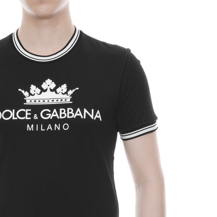 Dolce & Gabbana Crew Neck Crew Neck Cotton Short Sleeves Crew Neck T-Shirts 5