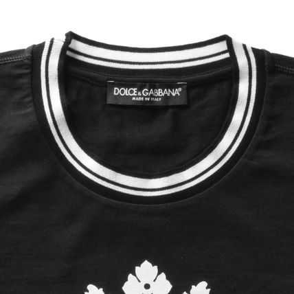 Dolce & Gabbana Crew Neck Crew Neck Cotton Short Sleeves Crew Neck T-Shirts 6