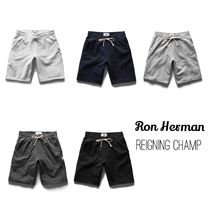 Ron Herman Sweat Street Style Plain Shorts