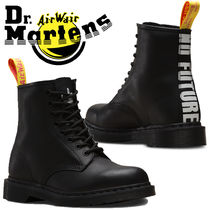 Dr Martens Lace-up Casual Style Unisex Street Style Leather