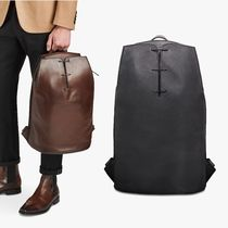 Berluti Plain Leather Backpacks