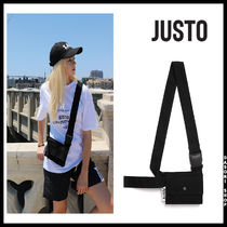 JUSTO Unisex Street Style Bags